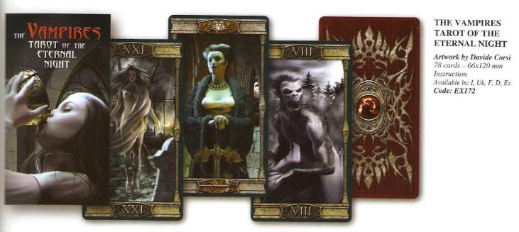 Vampires Tarot $39.990