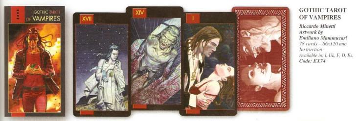Tarot Goticos Vampiro $23.000